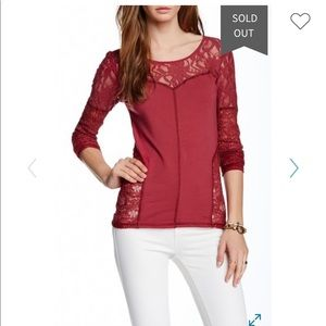 Free people sweet thang blouse